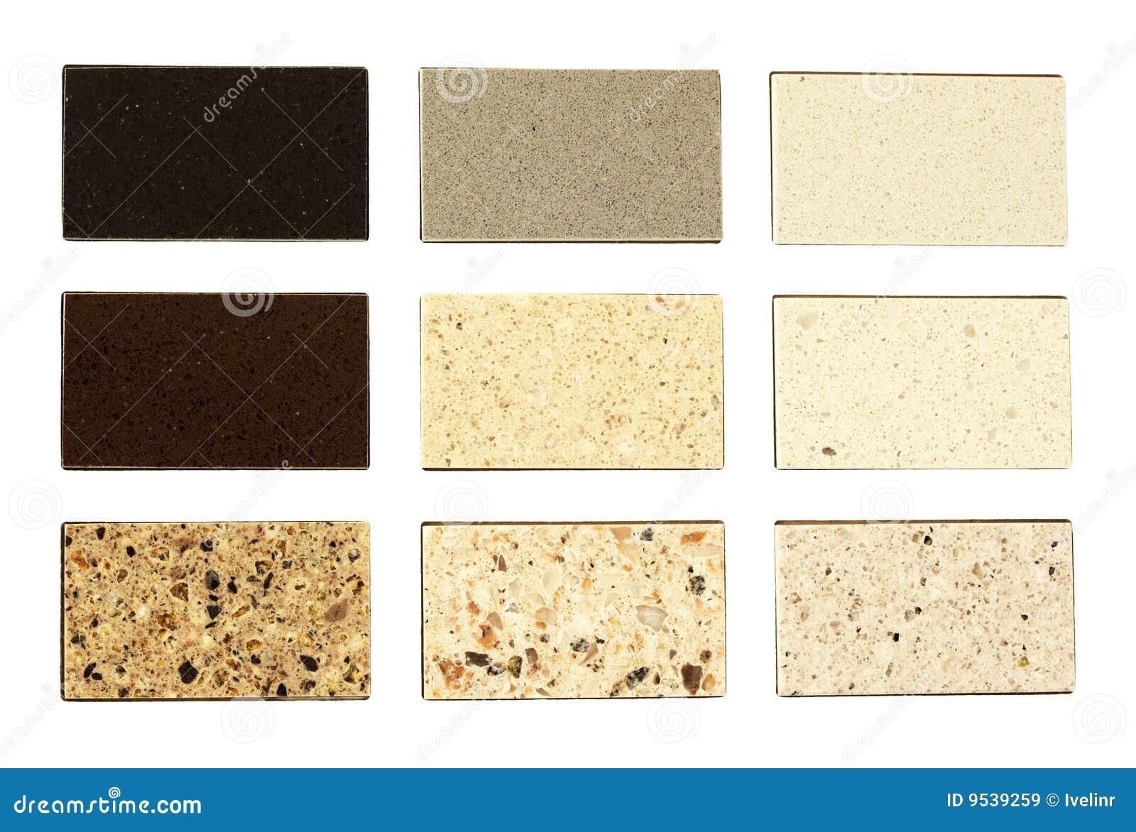Muestras de piedra para las encimeras de la cocina imagen for Granito para encimeras