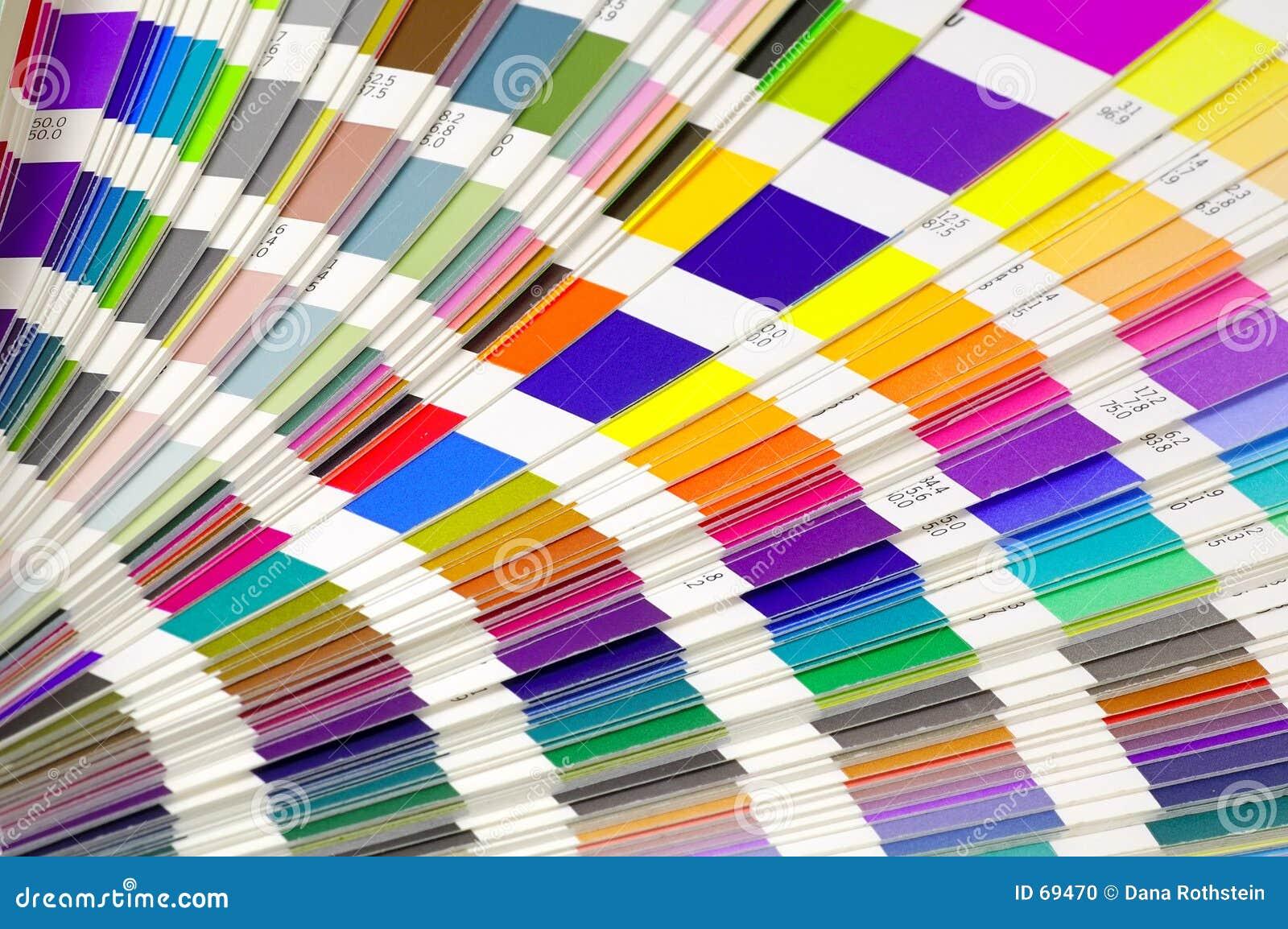 Muestras del color