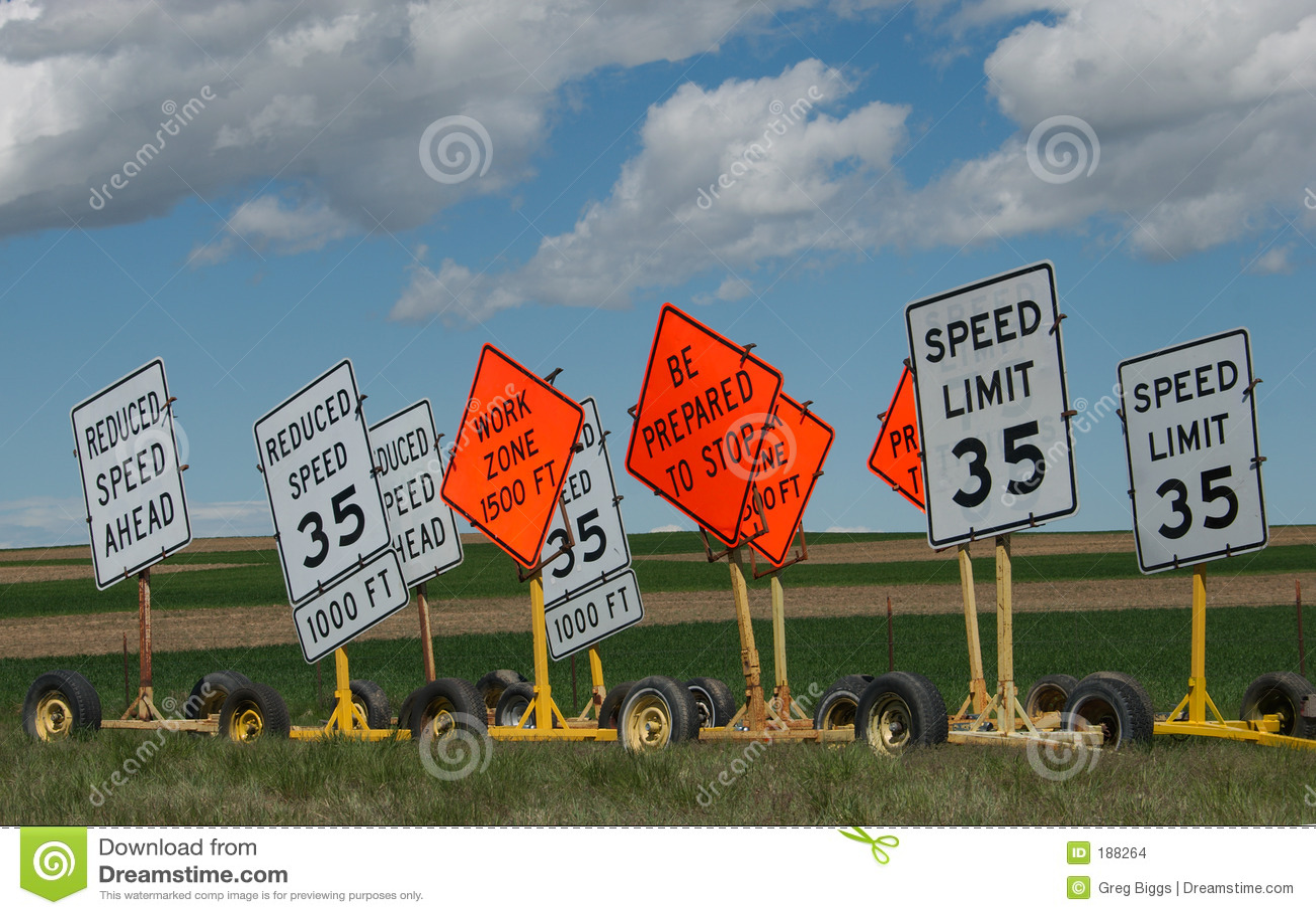 Muestras del límite de velocidad
