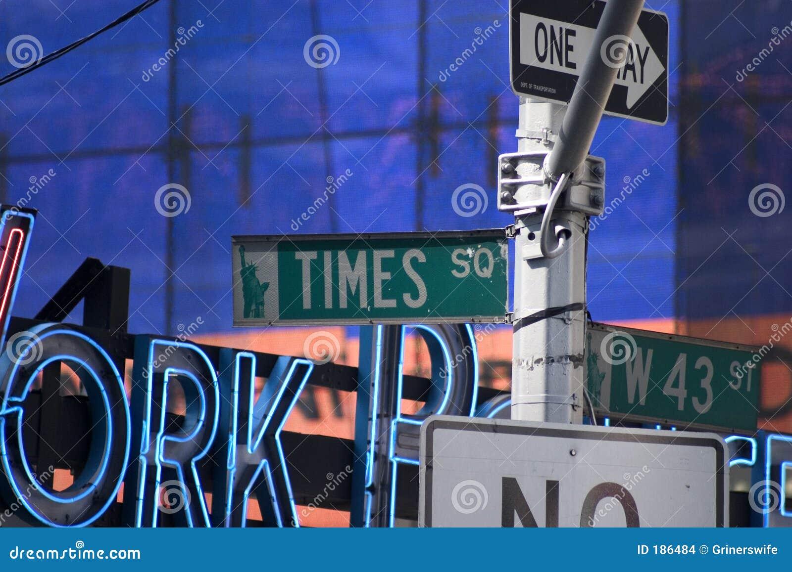 Muestras del Times Square