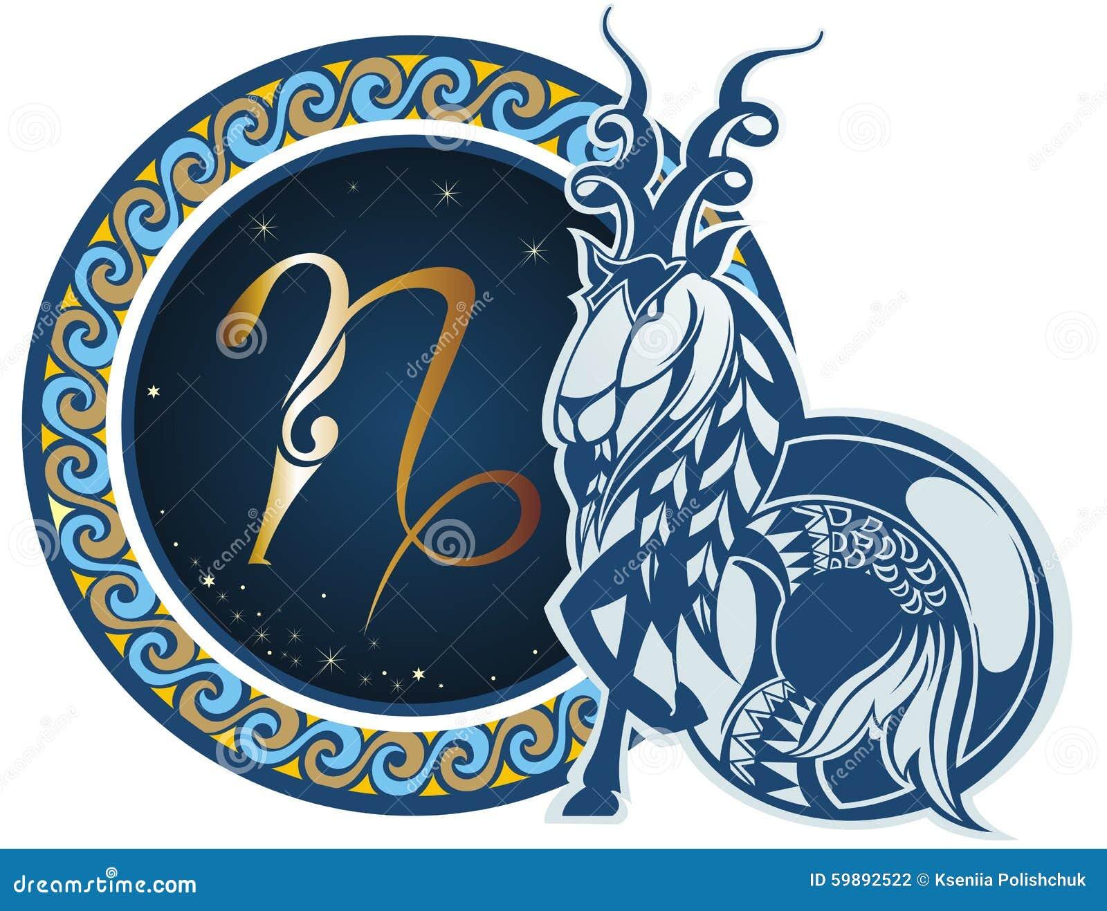 Muestras del zodiaco - Capricornio
