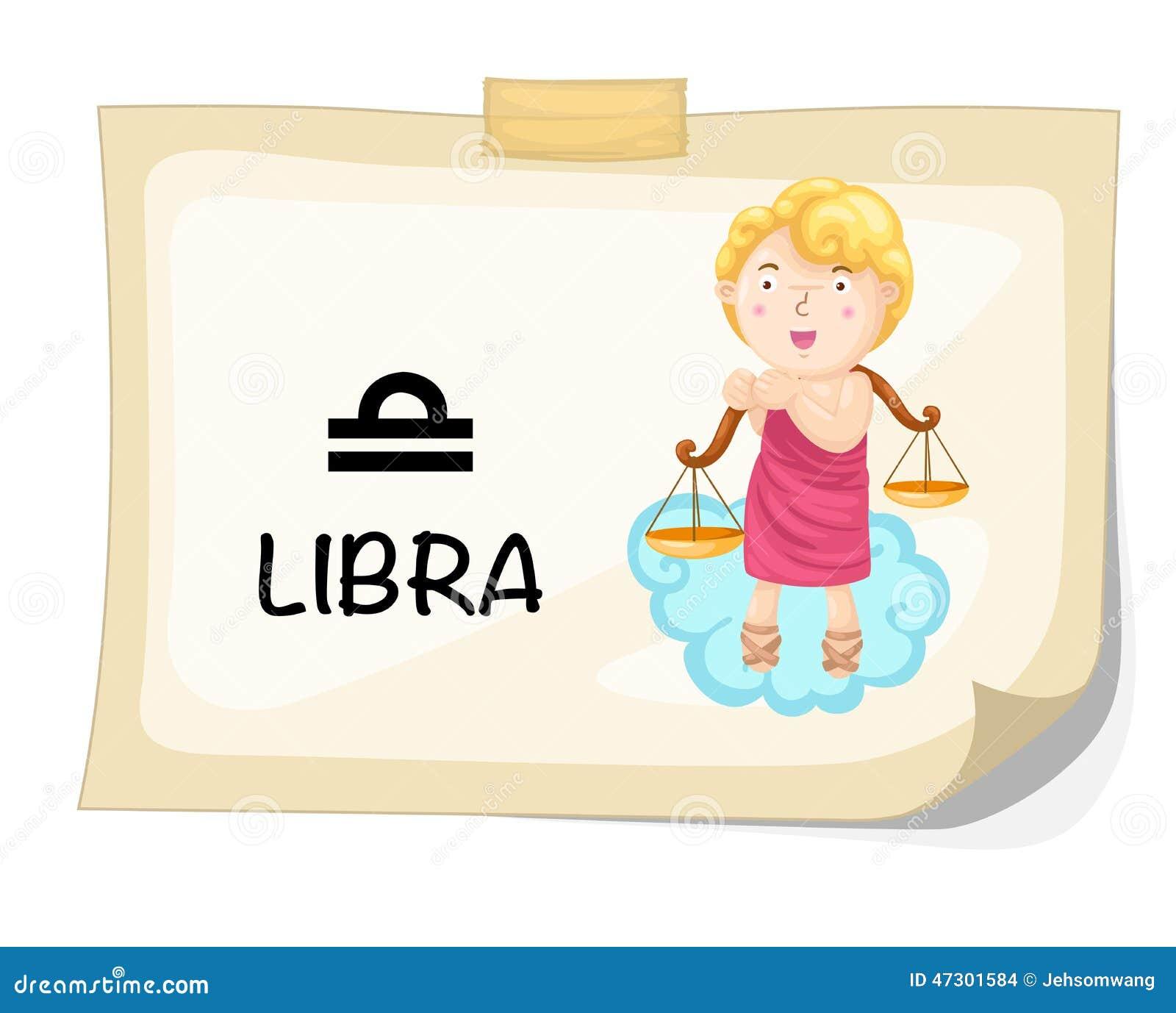 Muestras del zodiaco - libra