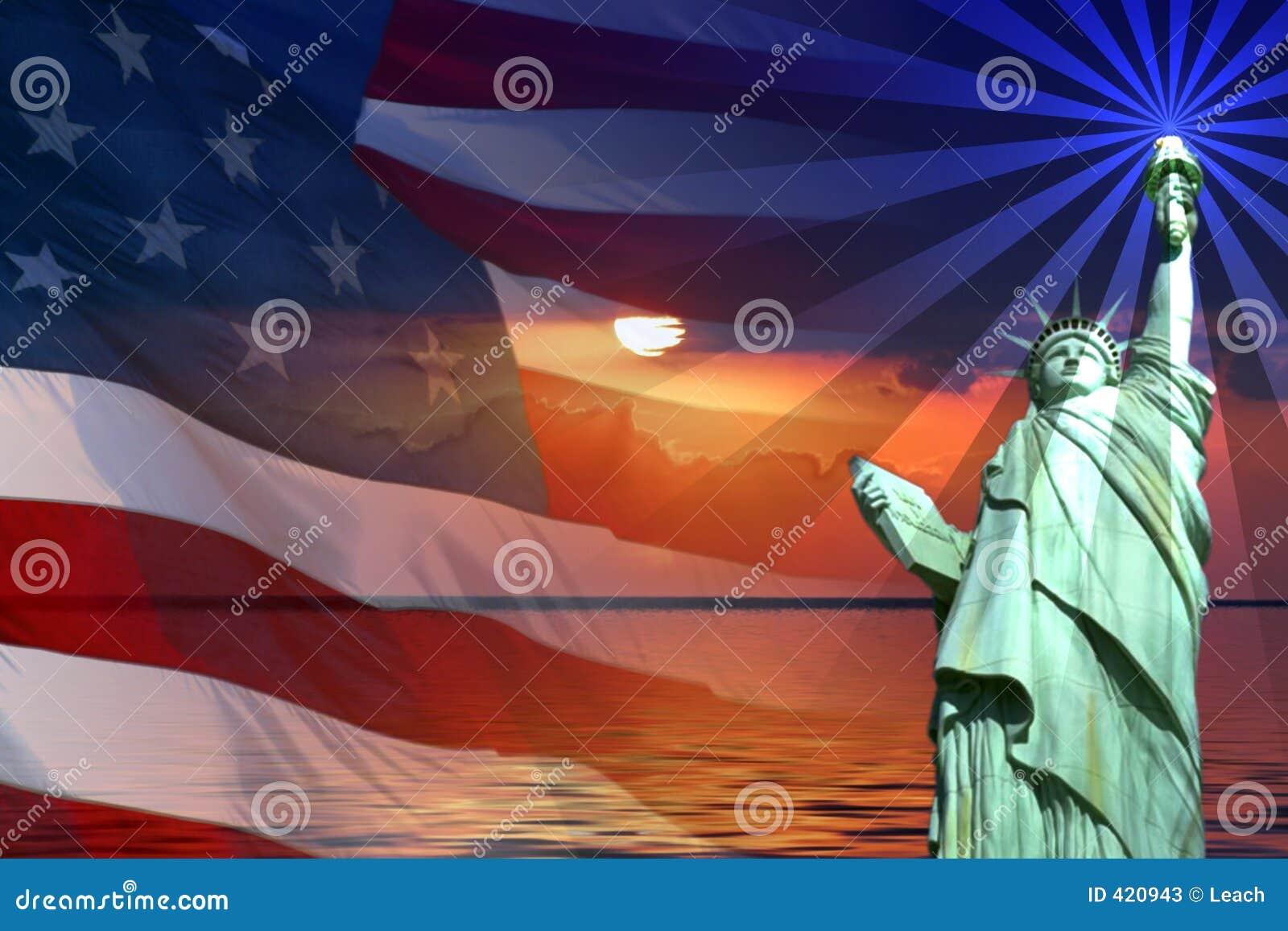 Muestras y símbolos de América