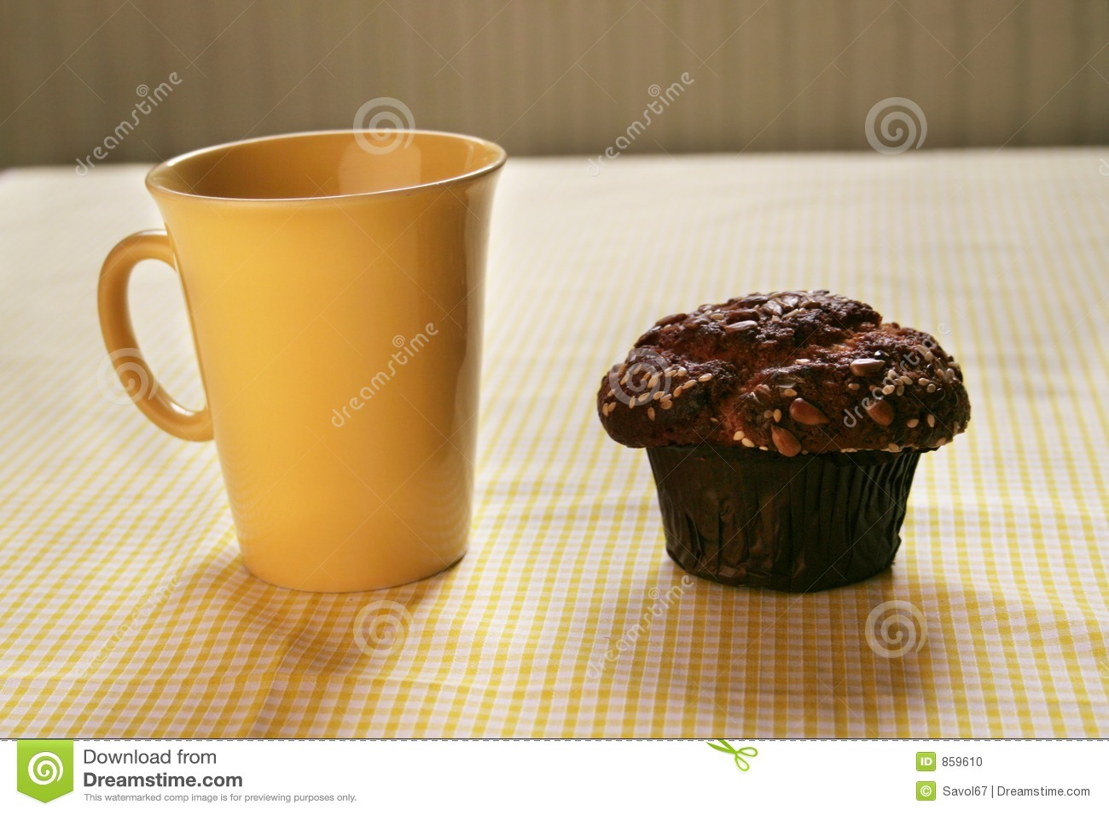 Muffin μελιού καφέ σπασιμάτων κ&alp