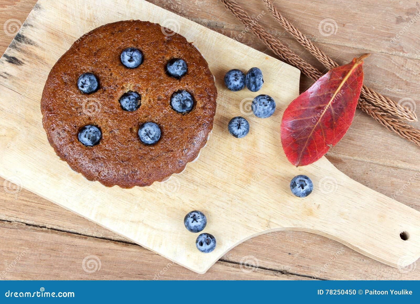 Muffin μπανανών τα βακκίνια κλείνουν επάνω