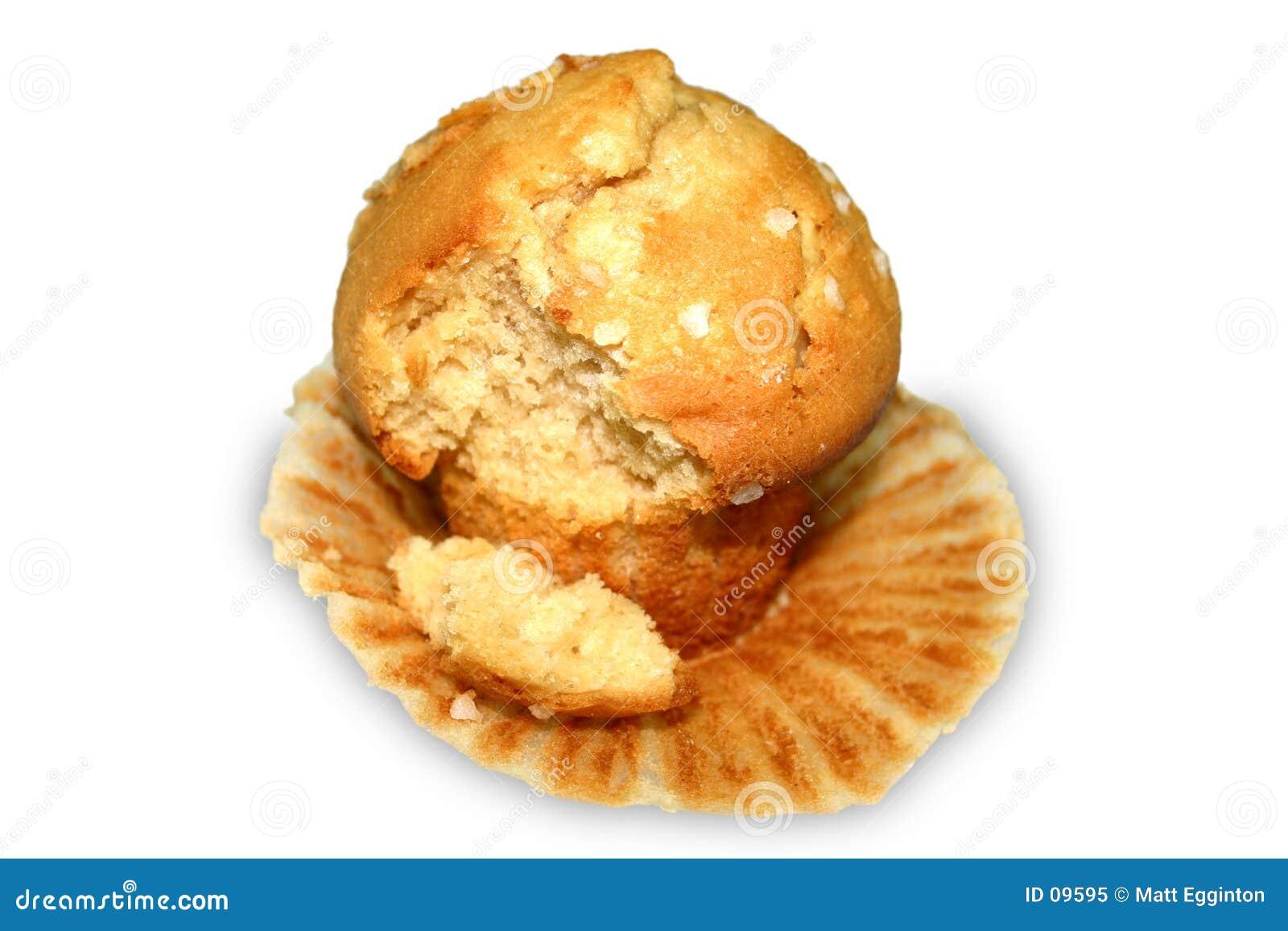 Muffin mit Bissen
