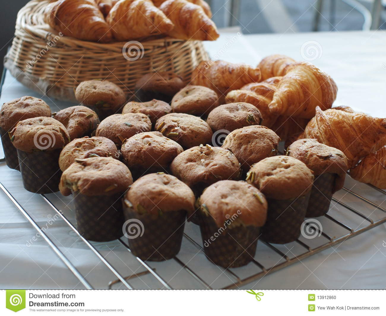 Muffin and pastry
