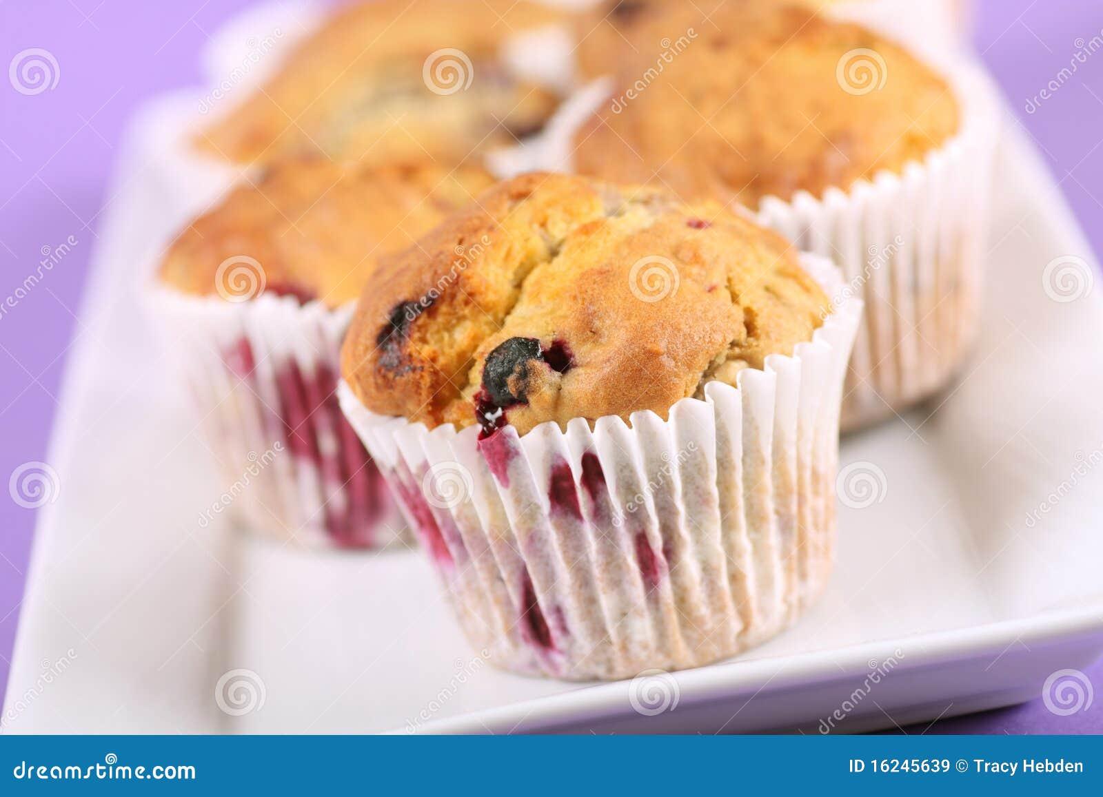 Muffins καρπού καλοκαίρι