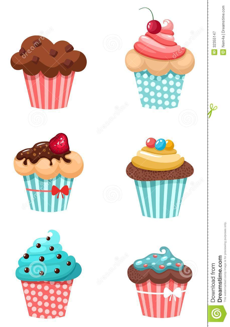 Coffee Cup Cake Toppers