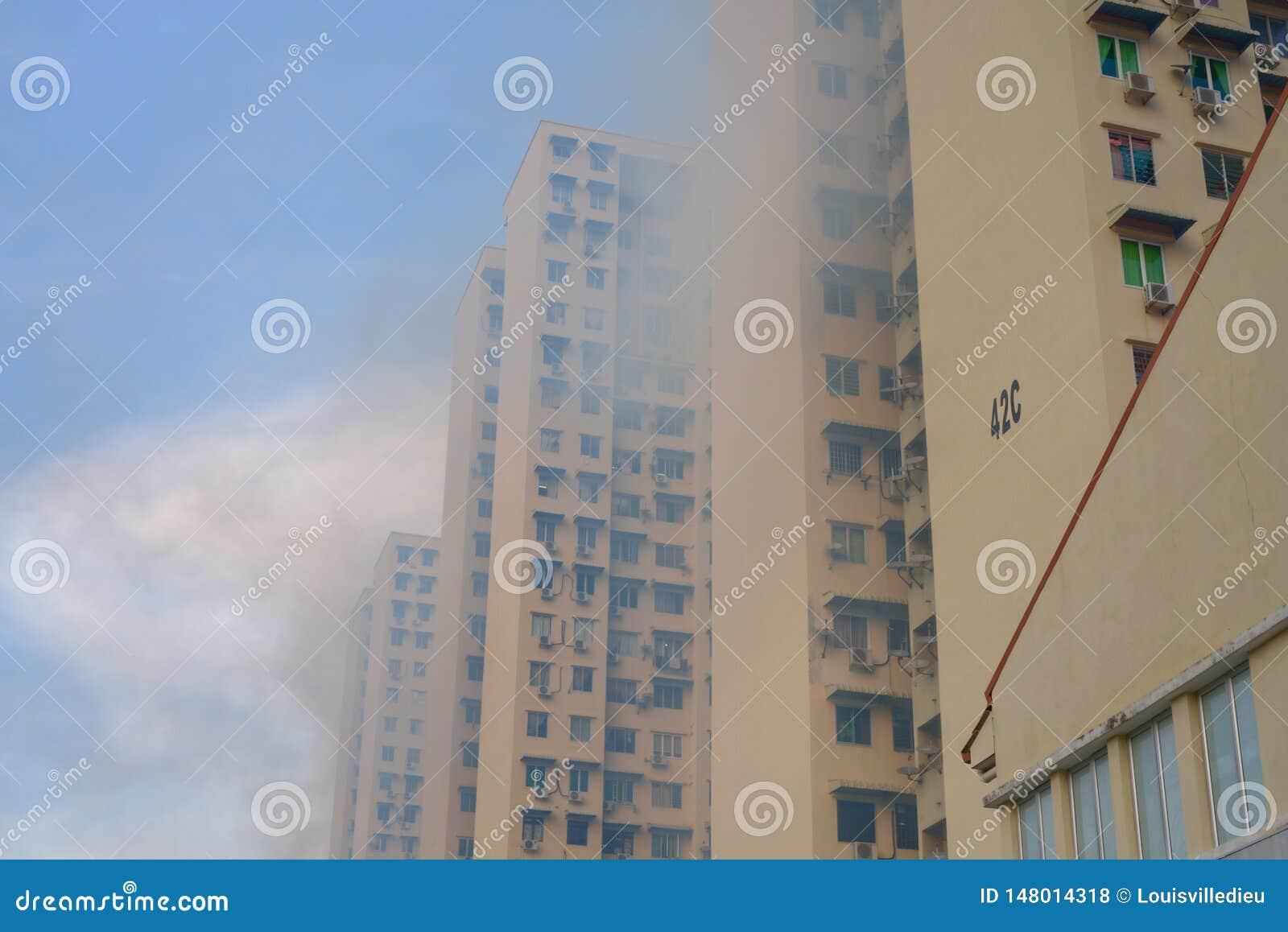 Mug afstotende beroking op huisvesting de bouwhigh-rise