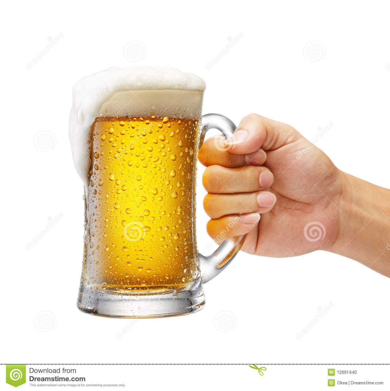 Mug Of Beer Stock Photo - Image: 12691440