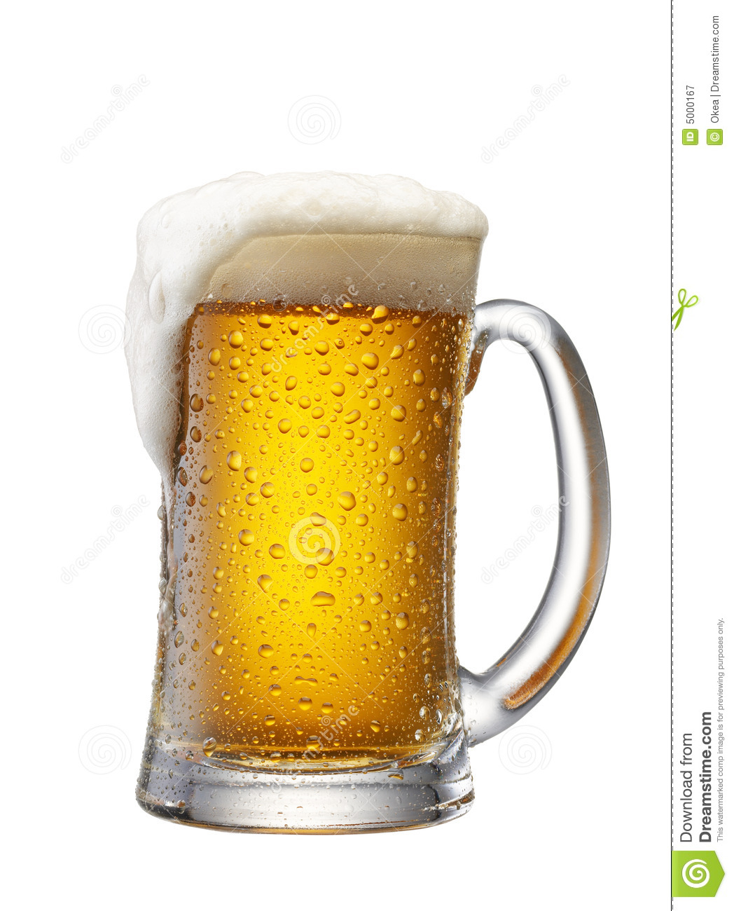 Mug Of Beer Royalty Free Stock Photography - Image: 5000167