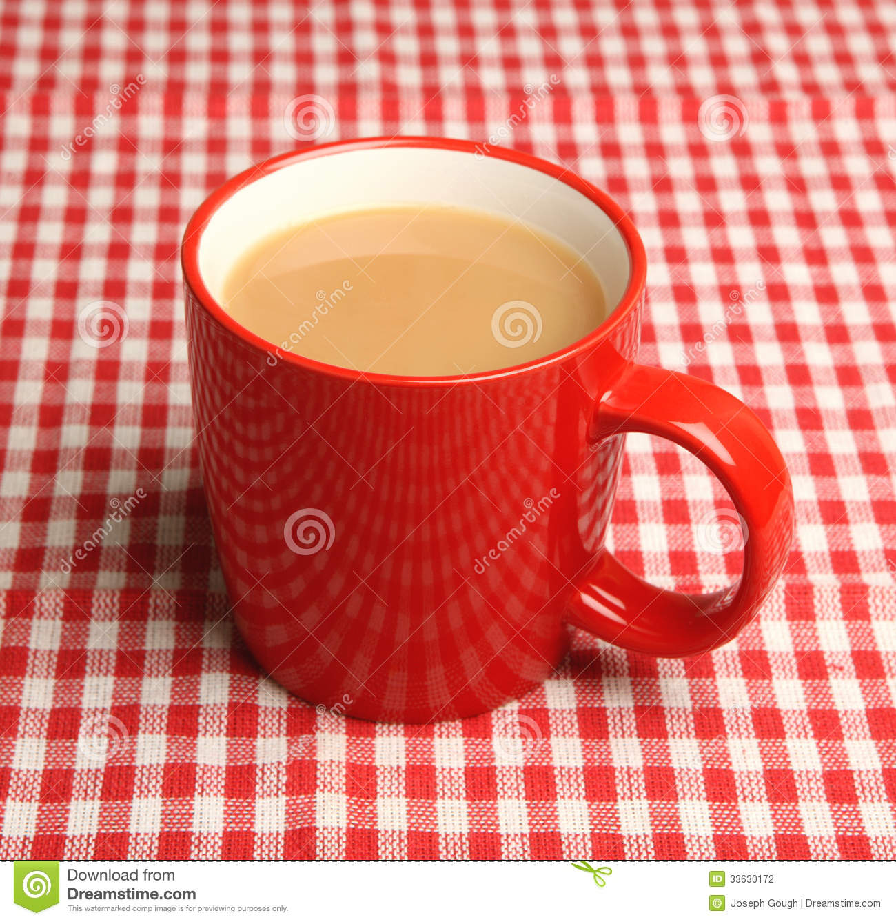 Mug Of Tea Stock Photo Image Of Object Drink Alone