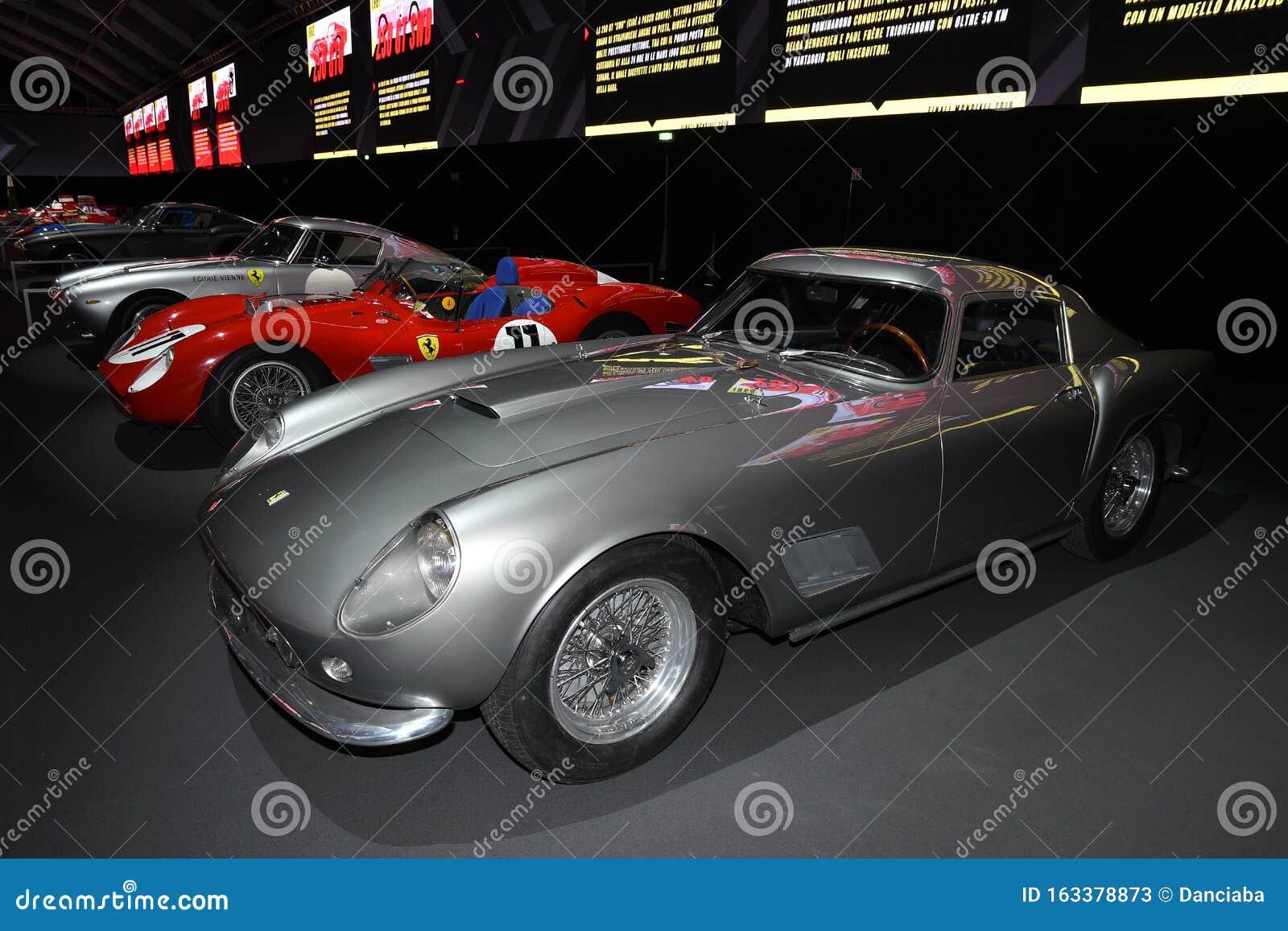 Mugello Circuit 25 October 2019 Vintage Ferrari 250 Gt Lwb Ecurie Vienne Year 1955 On Display During Finali Mondiali Ferrari Editorial Stock Photo Image Of Ferrari Historic 163378873