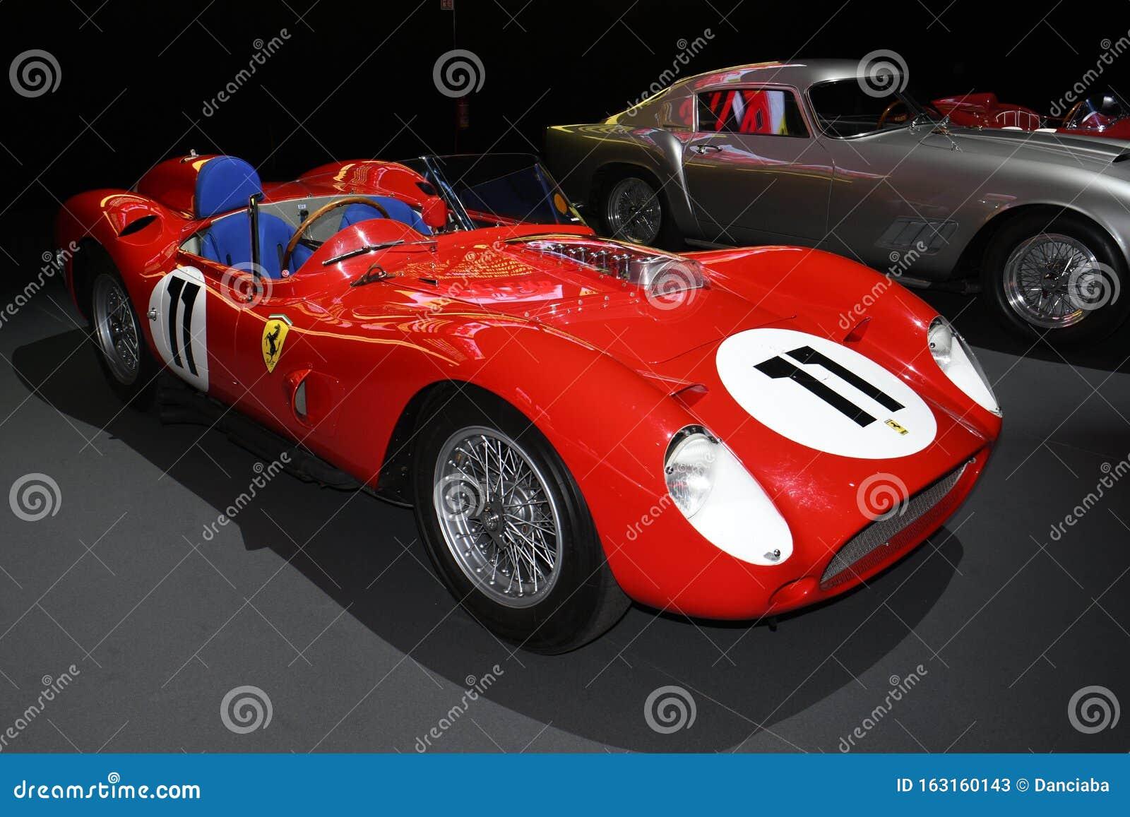 Mugello Circuit 25 October 2019 Vintage Ferrari 250 Tr Year 1960 On Display During Finali Mondiali Ferrari 2019 At Mugello Circu Editorial Stock Photo Image Of Background Automobile 163160143