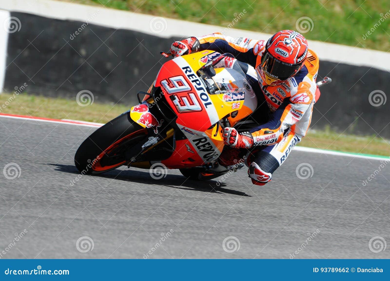 Circuit Italia Motogp : Mugello italy june spanish honda rider marc marquez