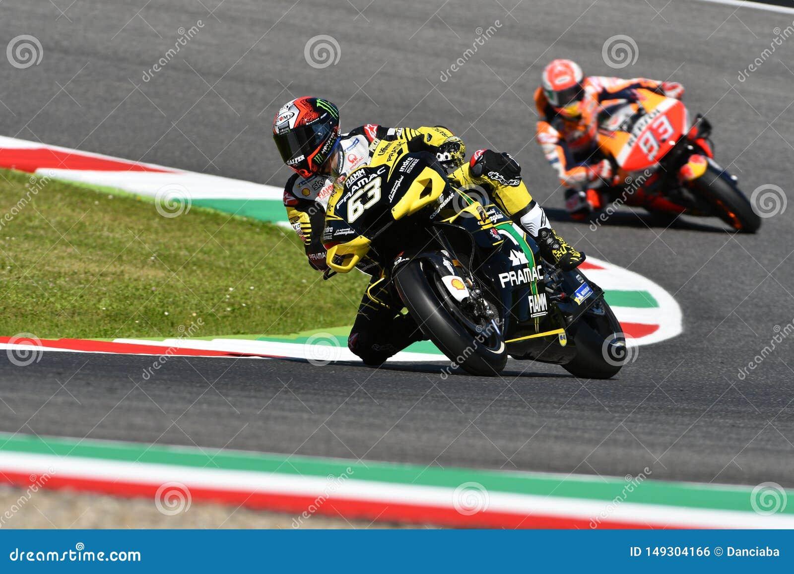 Mugello - ITALY, 30 May 2019: Italian Ducati Alma Pramac Team Rider Francesco  Bagnaia In Action At 2019 GP Of Italy Of MotoGP Editorial Photo - Image of  ducati, championship: 149304166