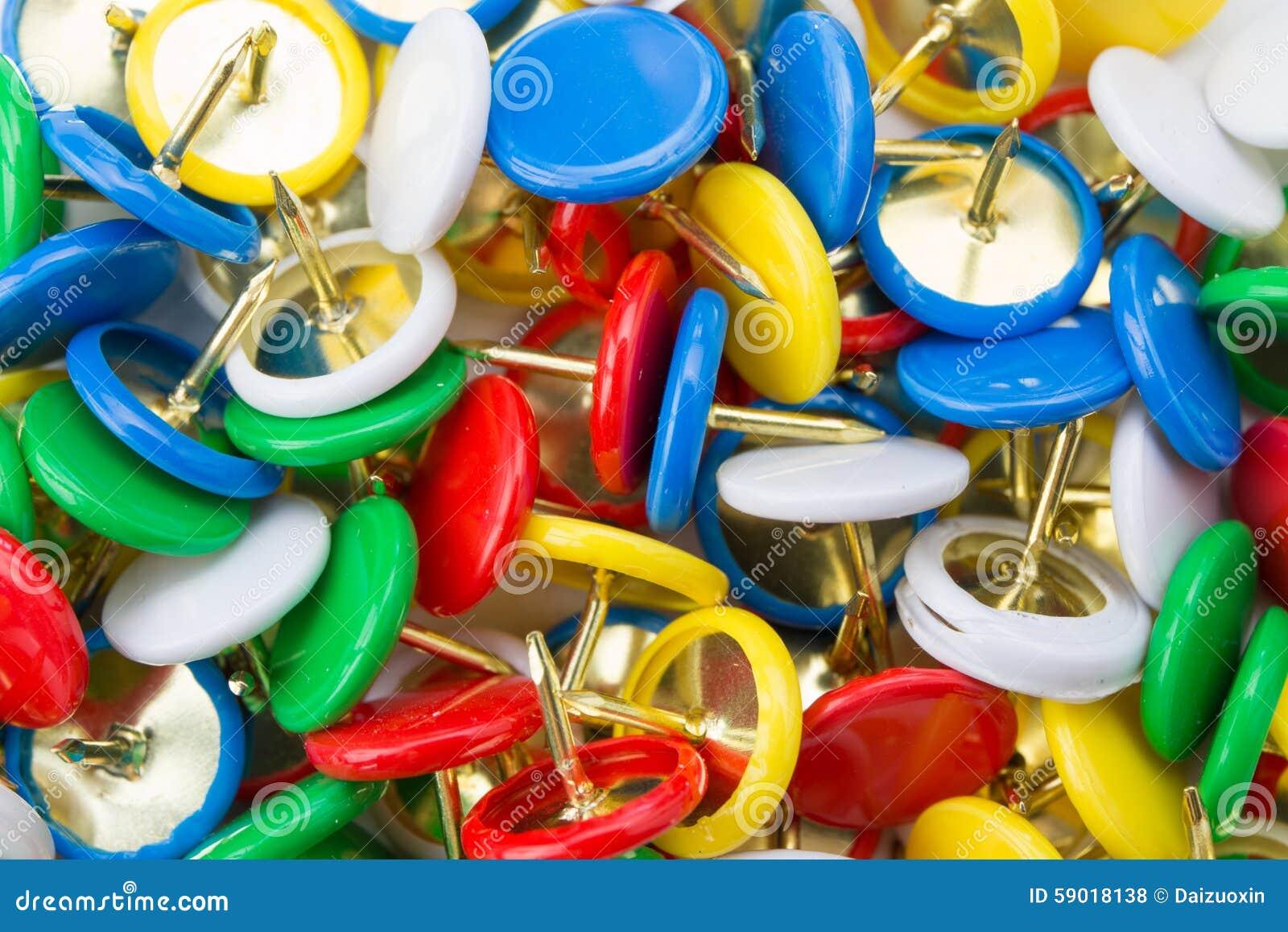Muitas aderências coloridas