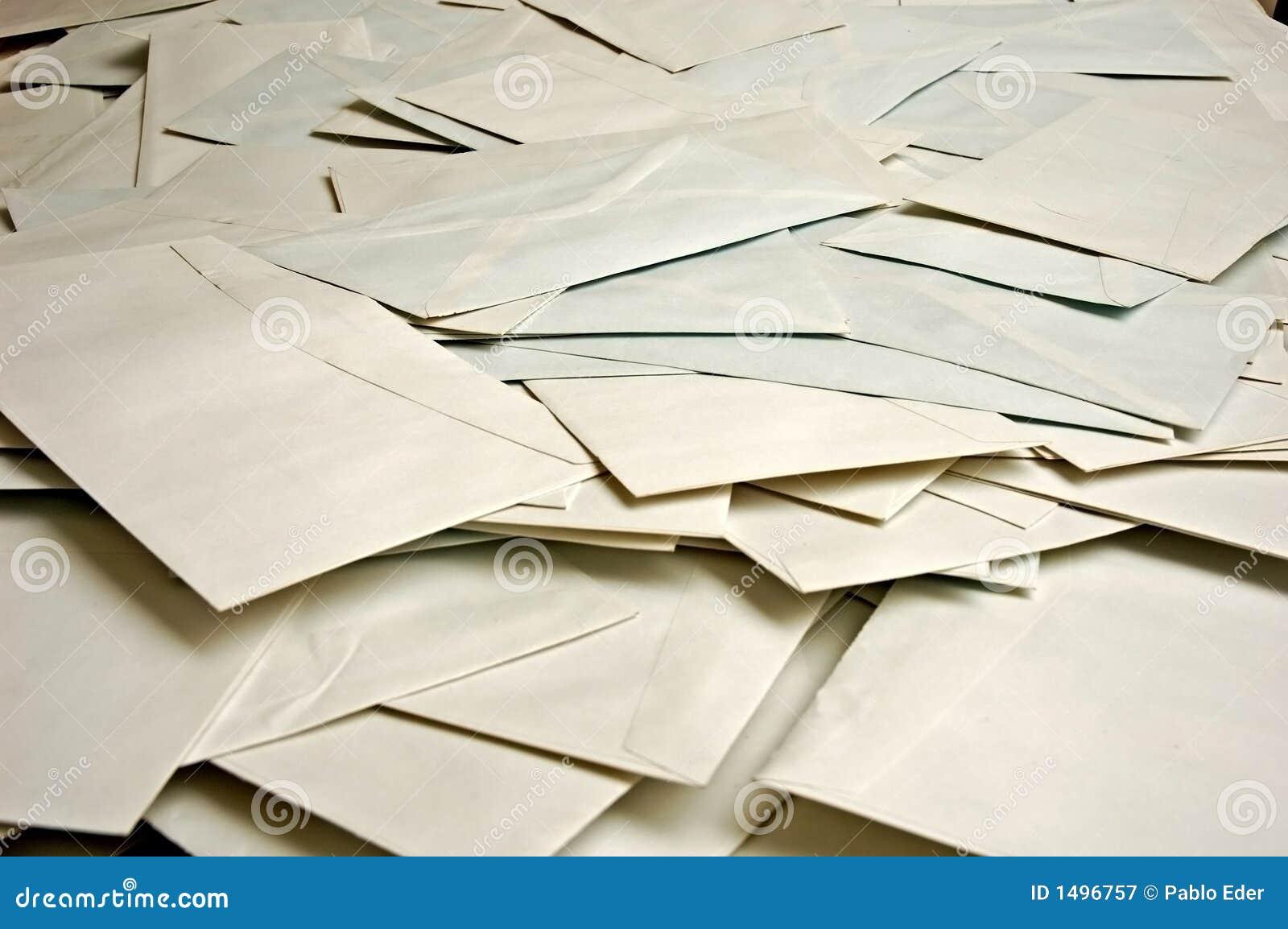 Muitos envelopes