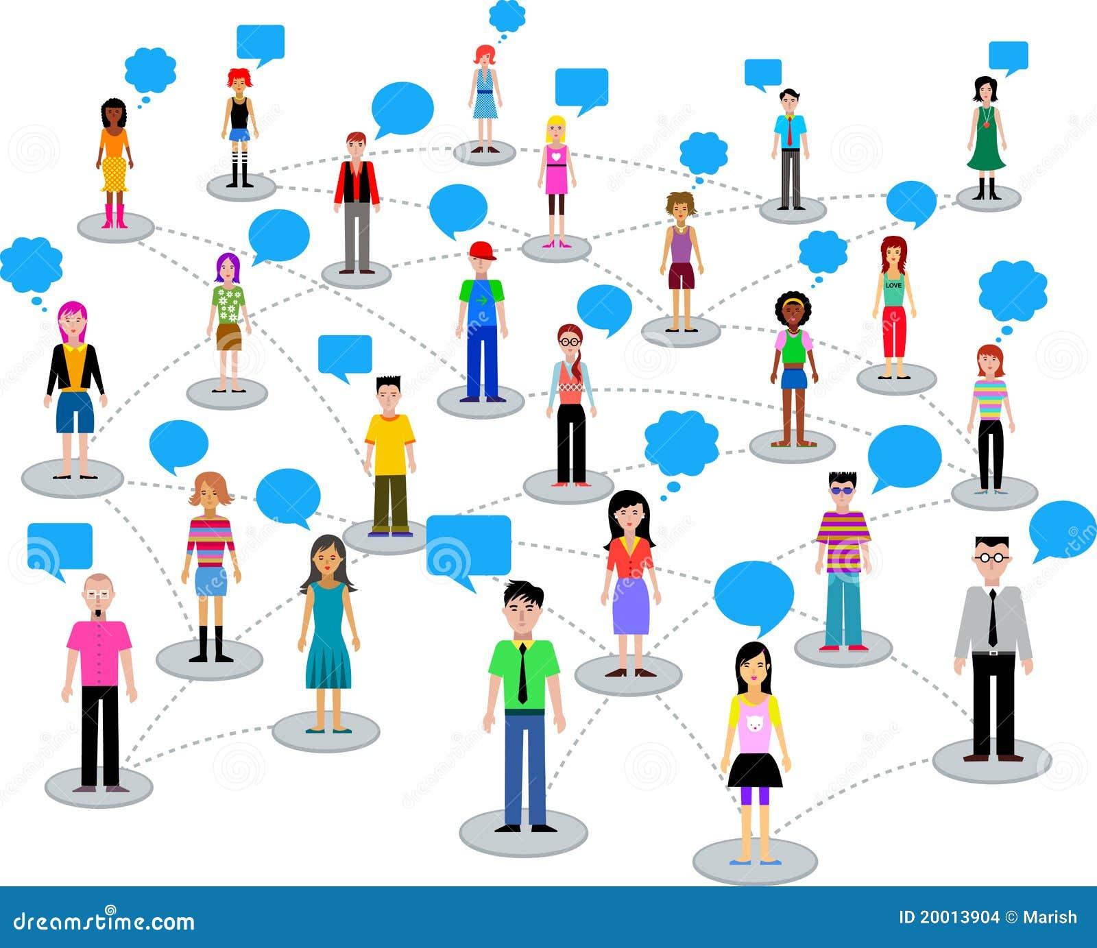 Muitos povos diferentes