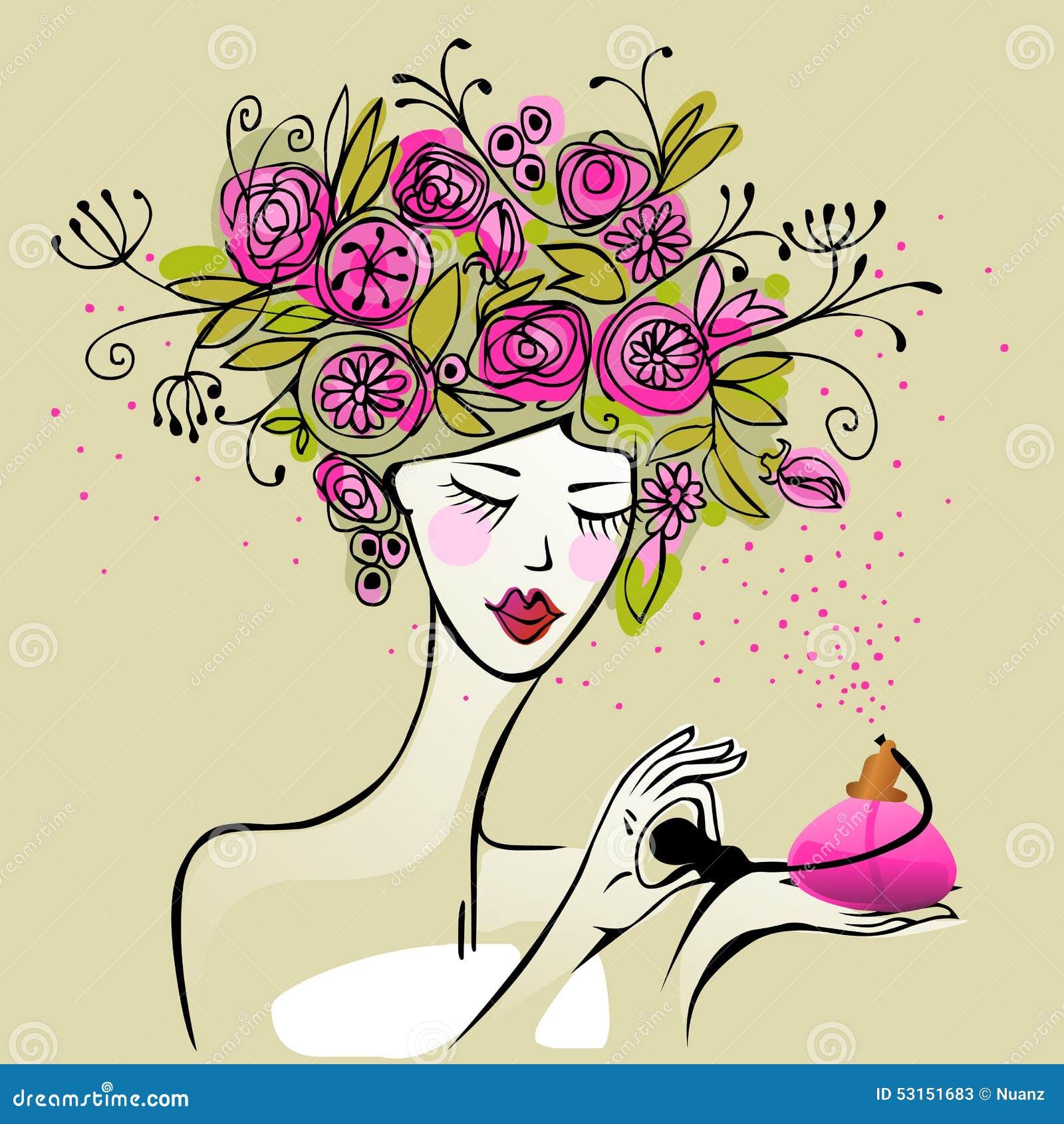 perfume de mujer bonita