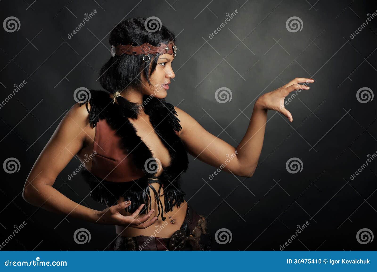 Mujer de la bruja