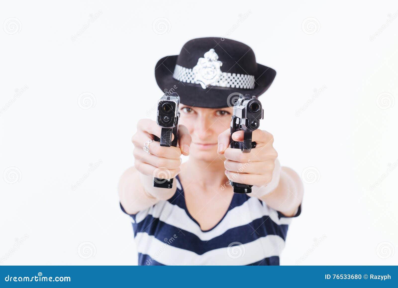 Mujer de la policía