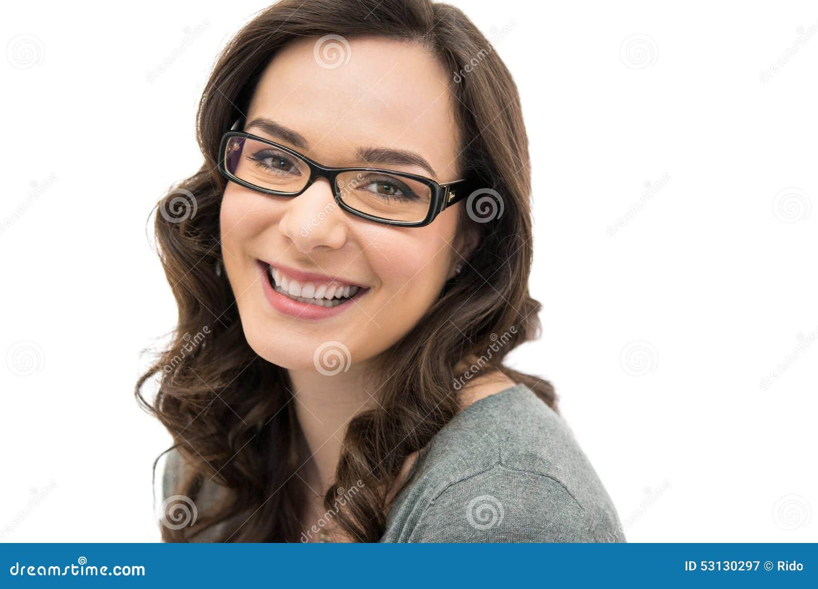 Mujer de risa con el espectáculo