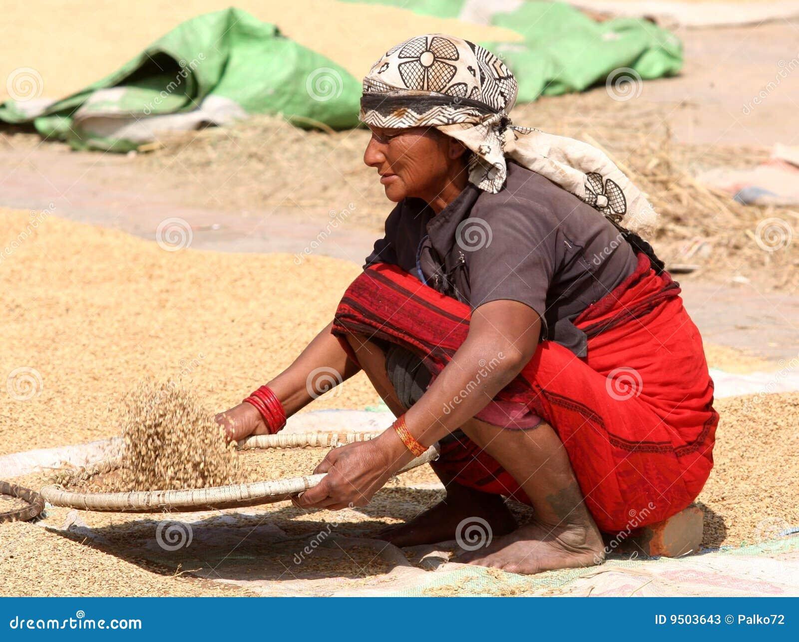 Mujer del Nepali