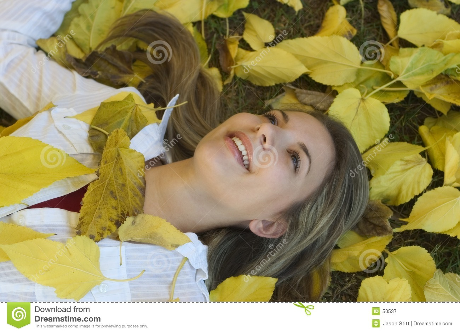 Mujer del otoño