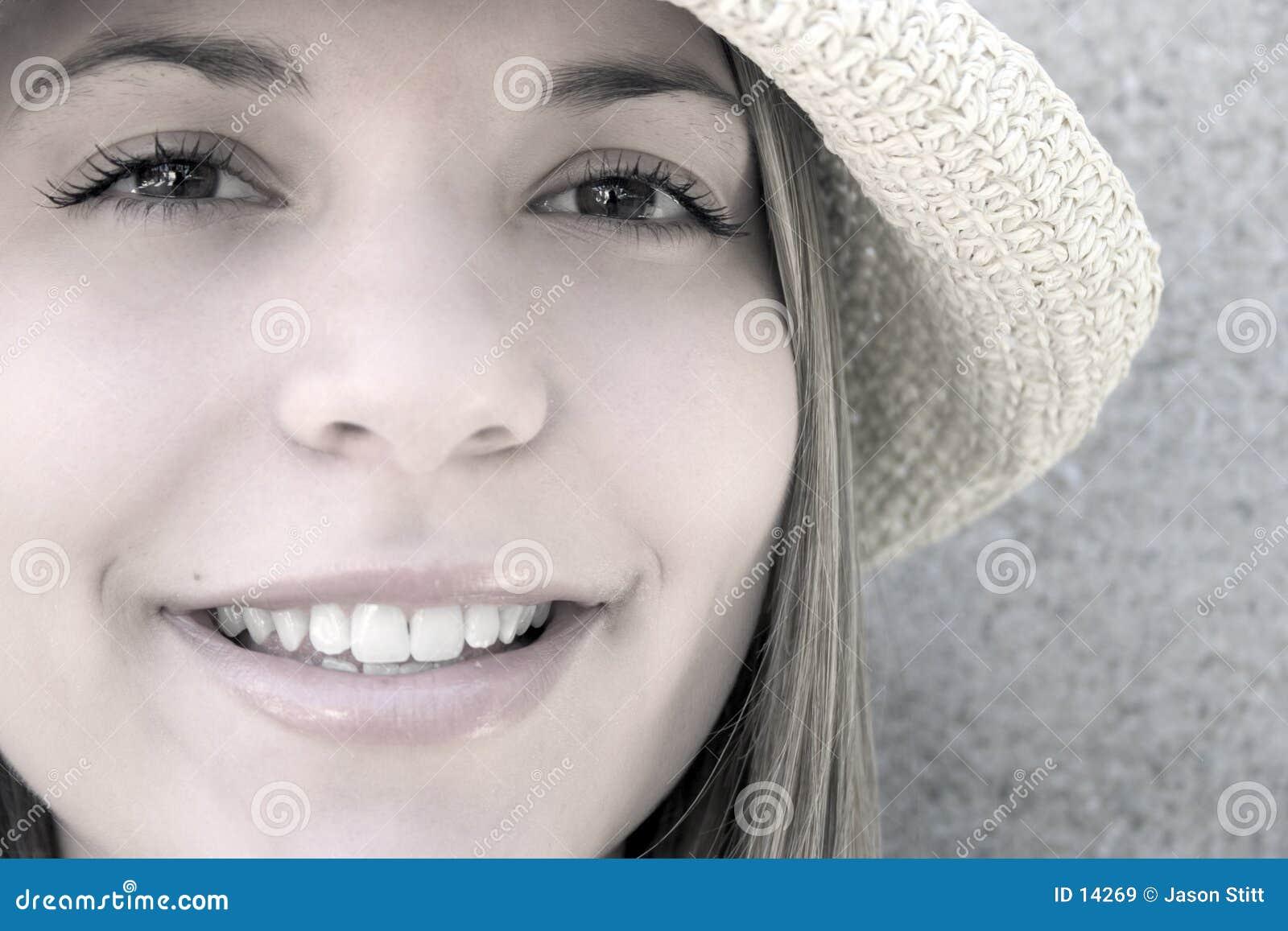 Mujer del sombrero