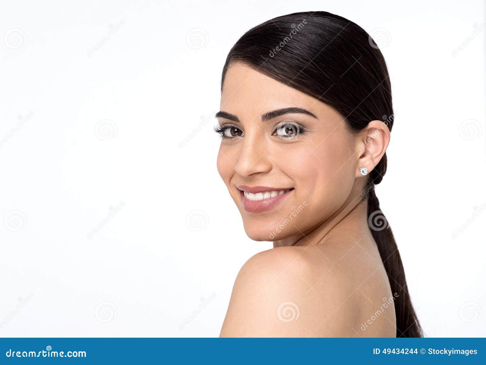 Mujer desnuda en camara foto 1