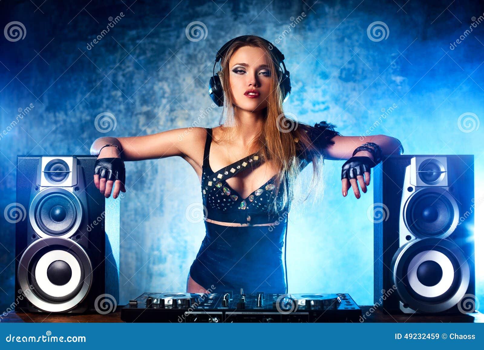 Mujer DJ