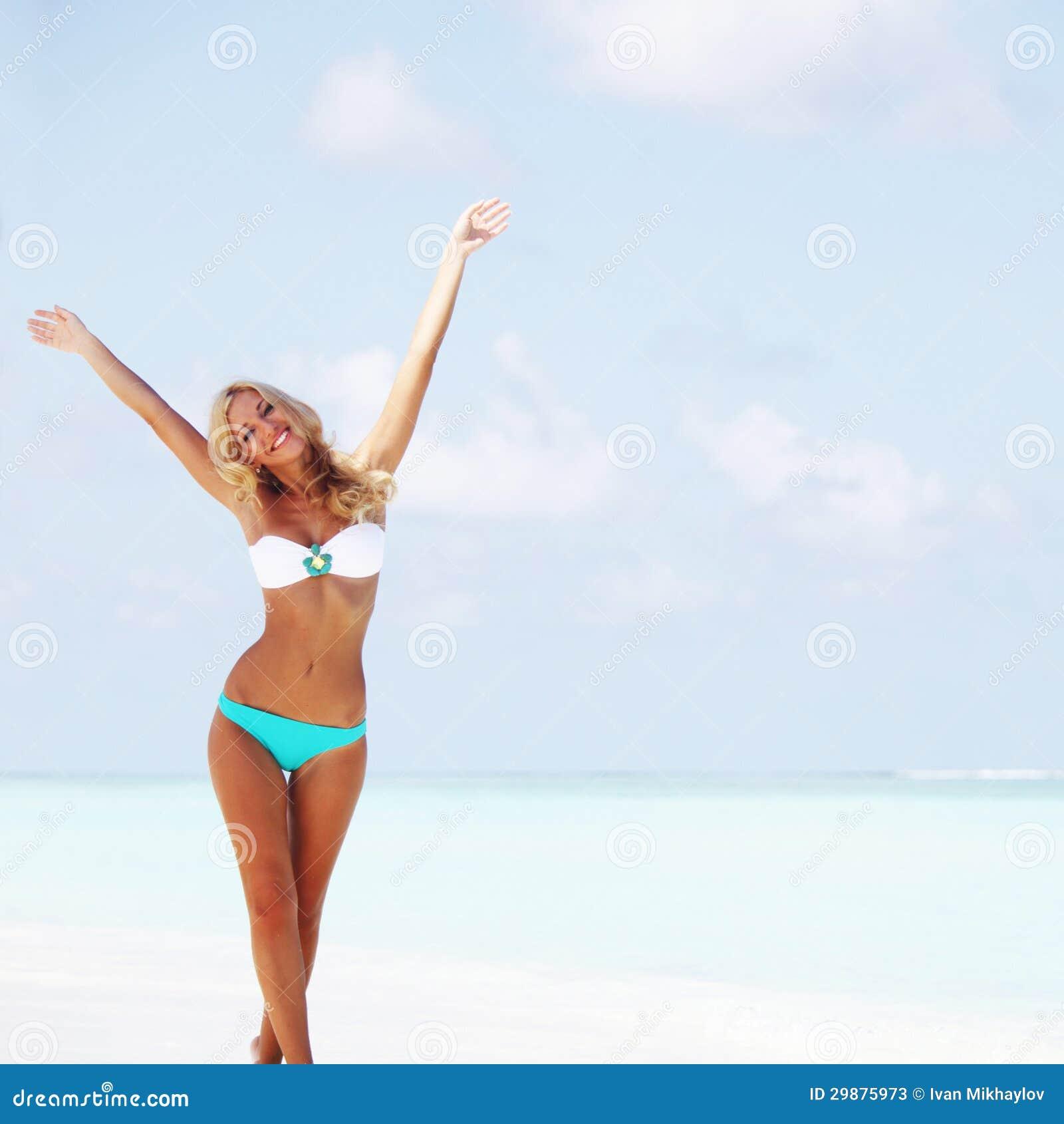 Foto de la esposa del tigre bikini