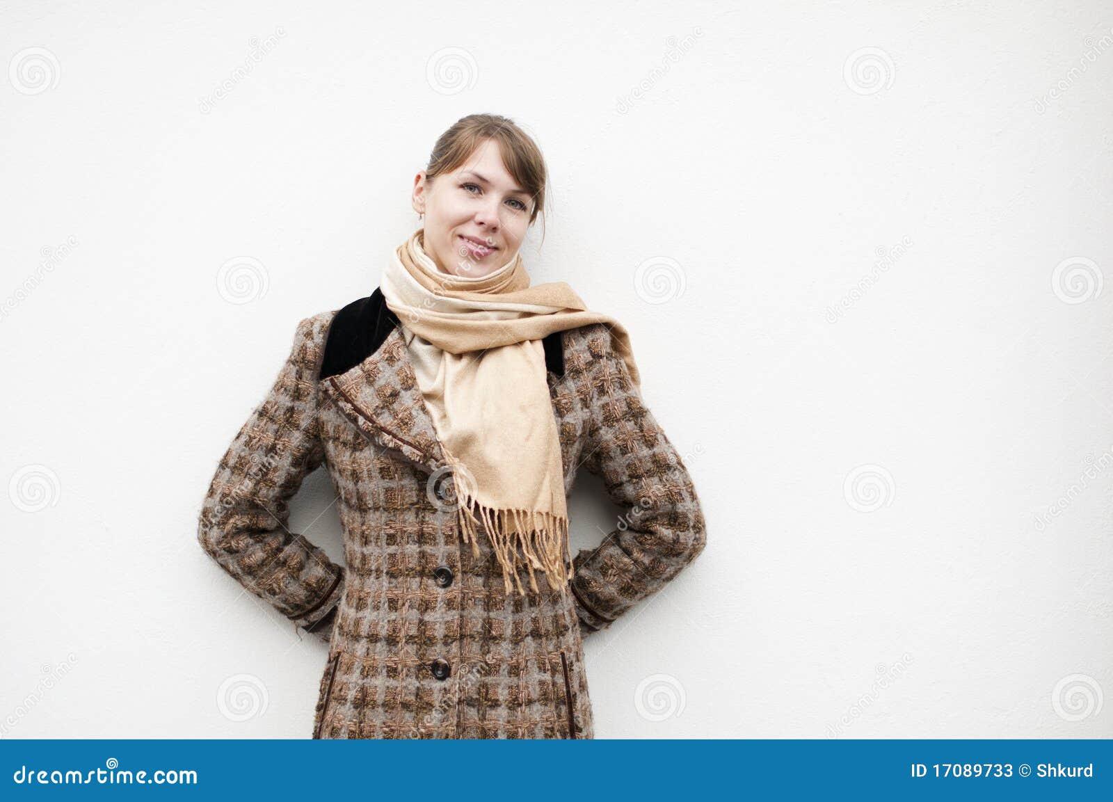 Mujer en la capa