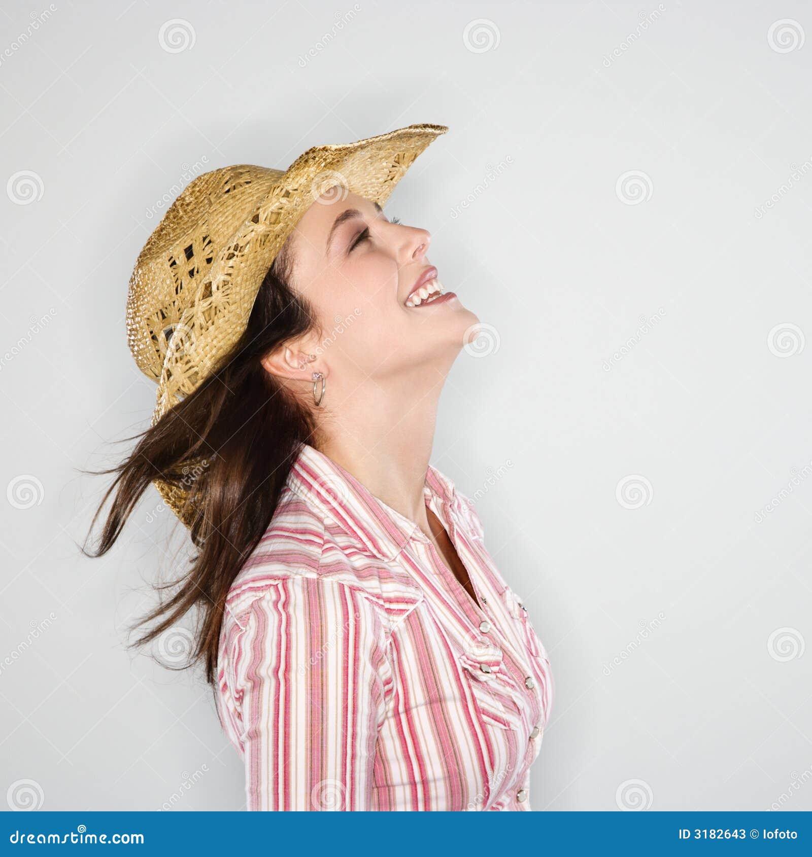Mujeres con sombrero de vaquero