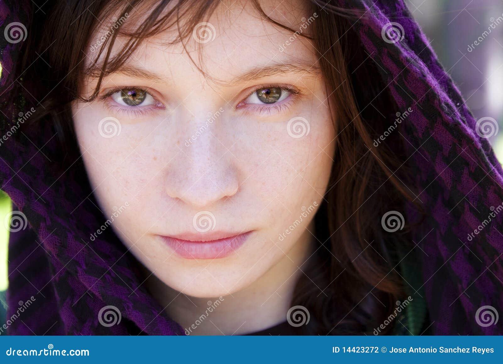 Mujer en velo