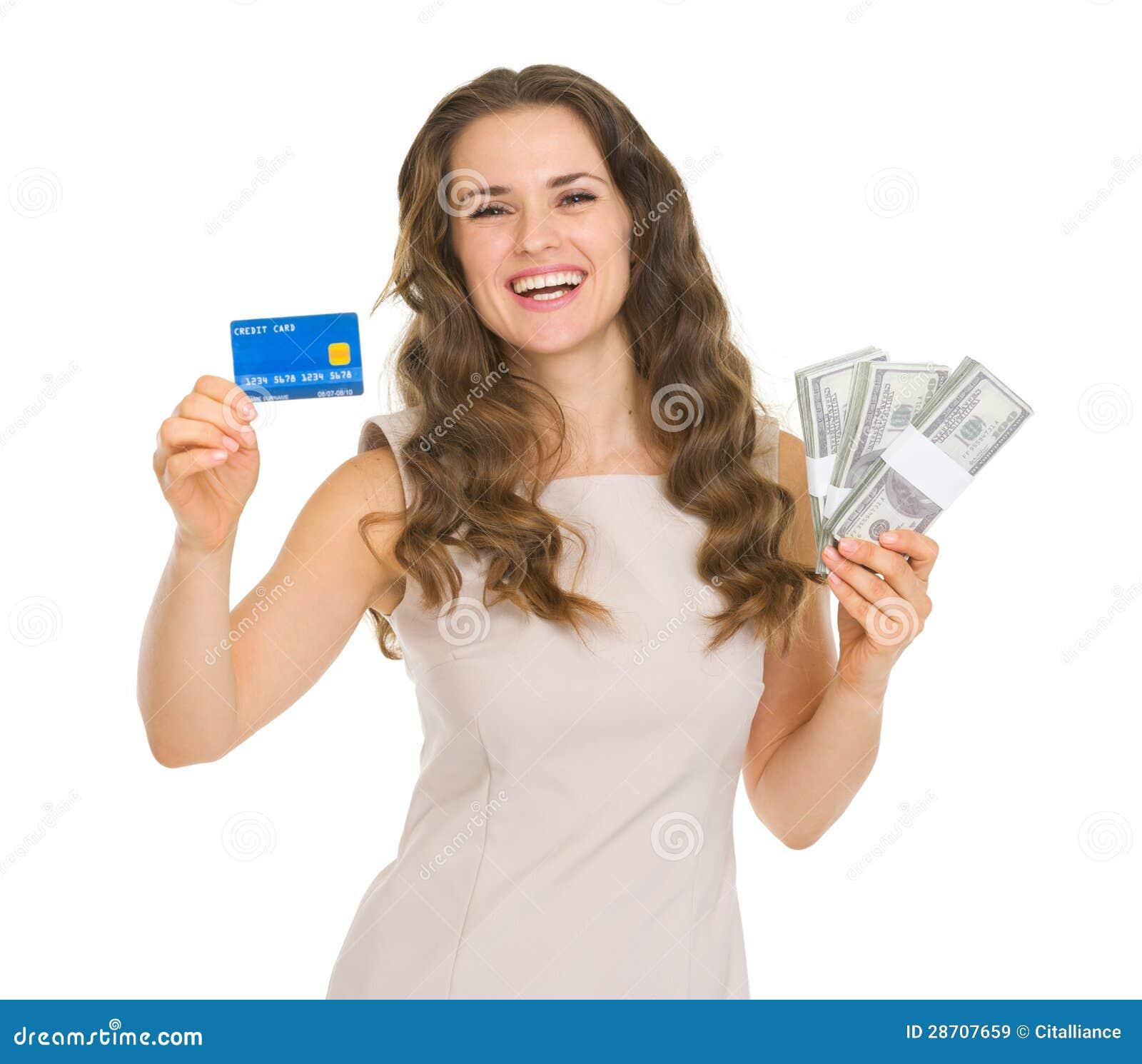 tarjeta de crédito dama mamada