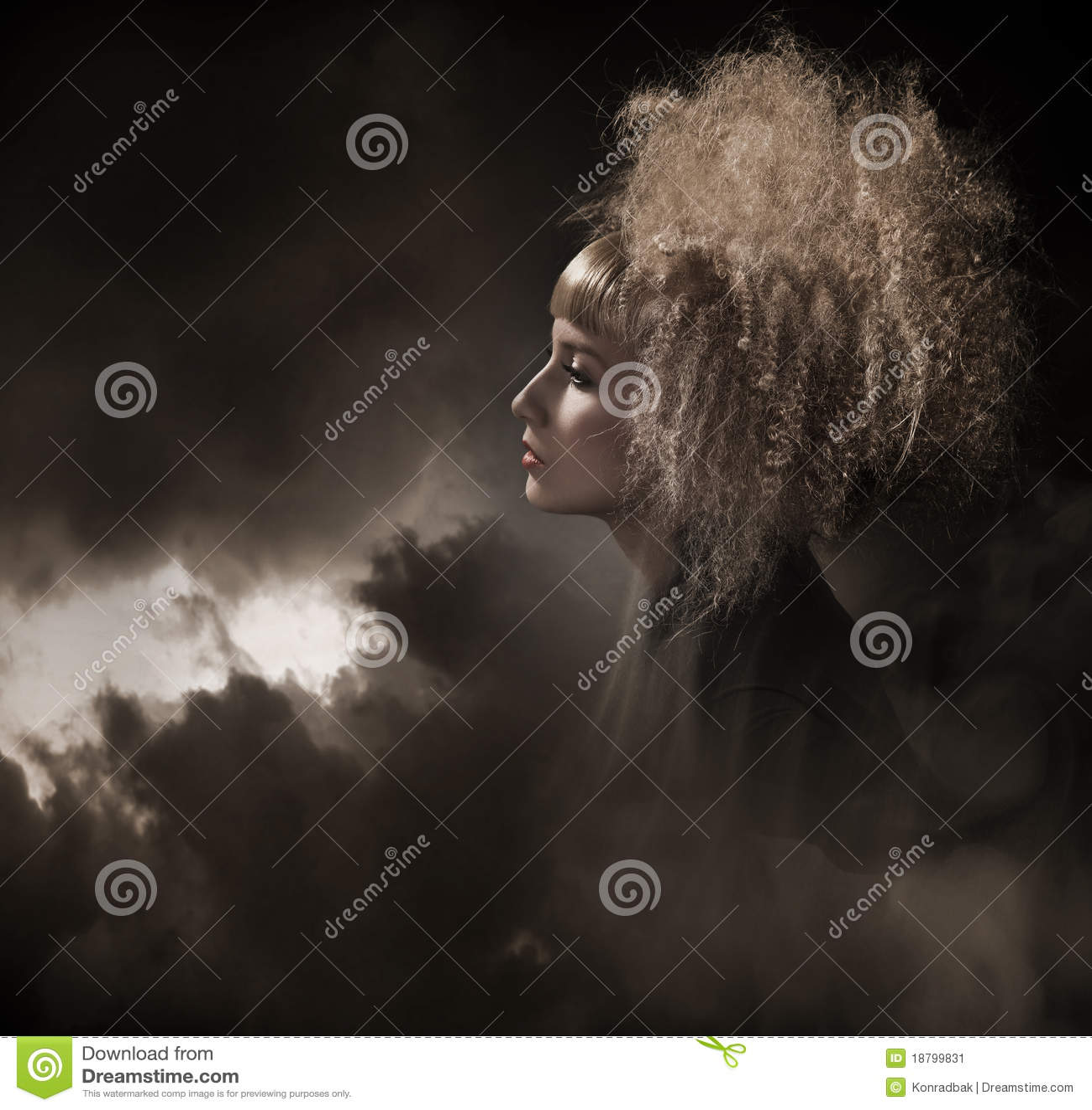 Mujer gótica