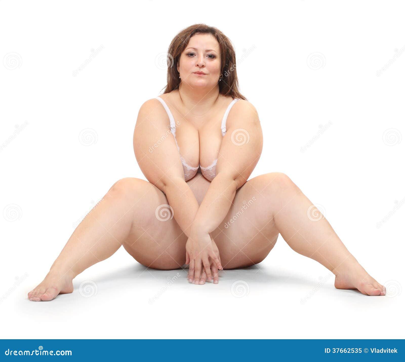 Mujer gorda. imagen de archivo. Imagen de manera ...
