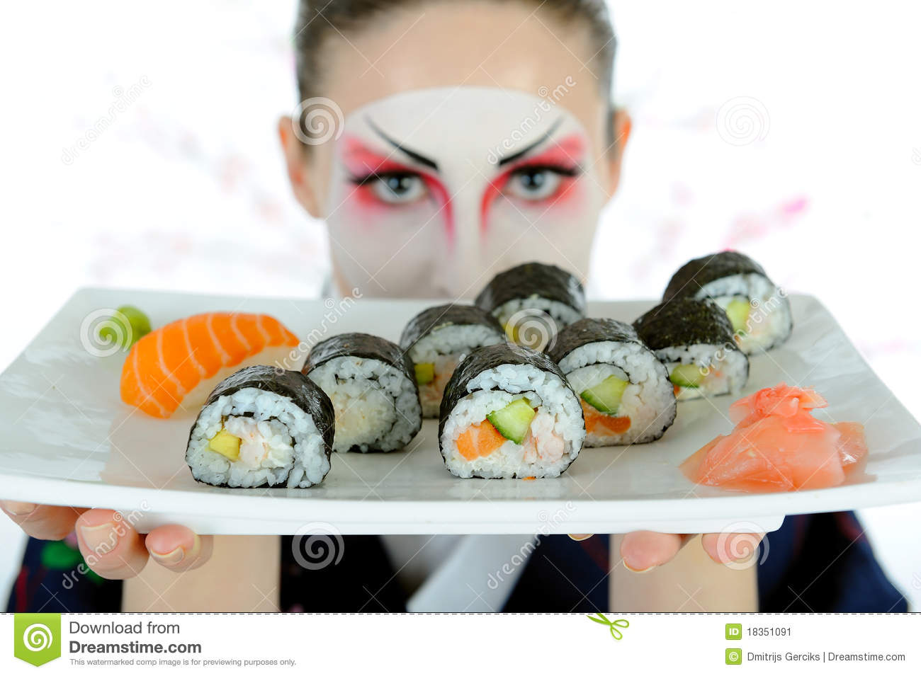 Filete geisha y suchi