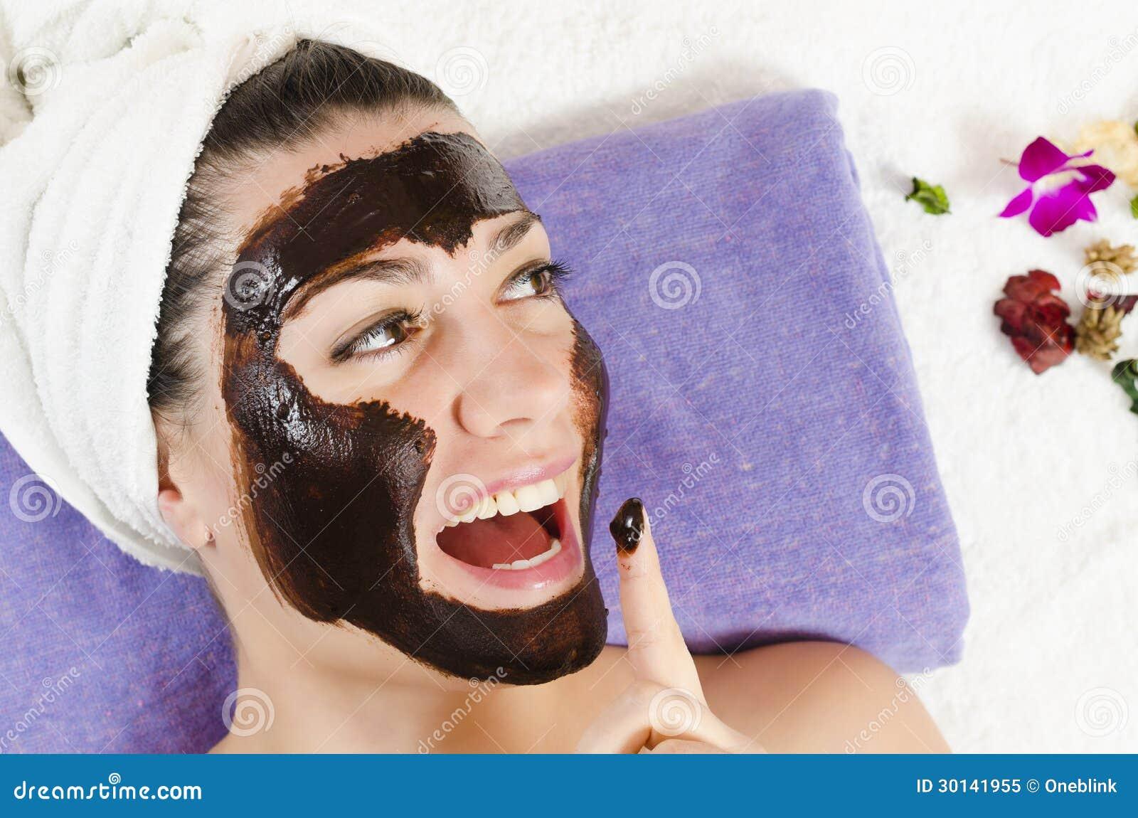 Máscara del Facial del chocolate