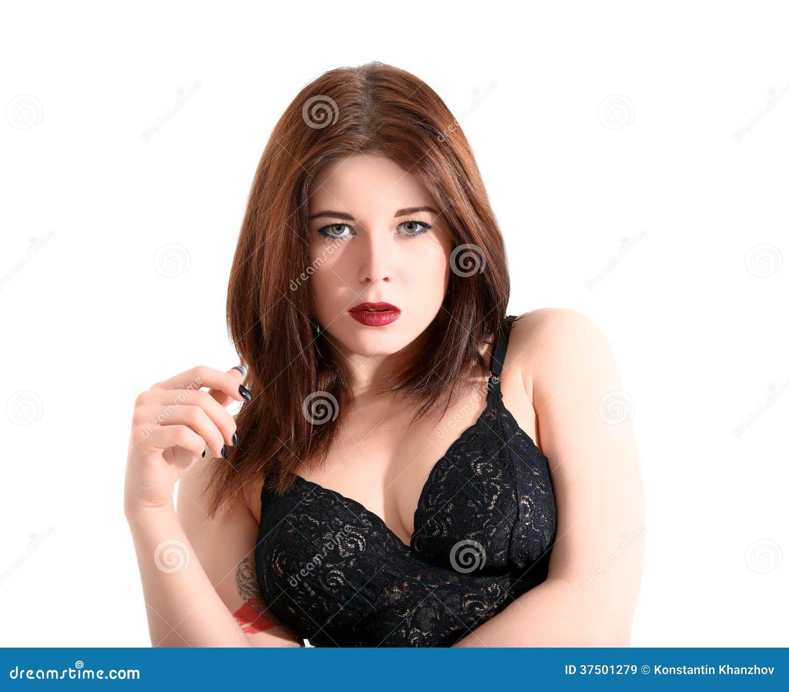 Mujer joven hermosa que presenta en ropa interior im genes de archivo libres de regal as - Fotografias de mujeres en ropa interior ...