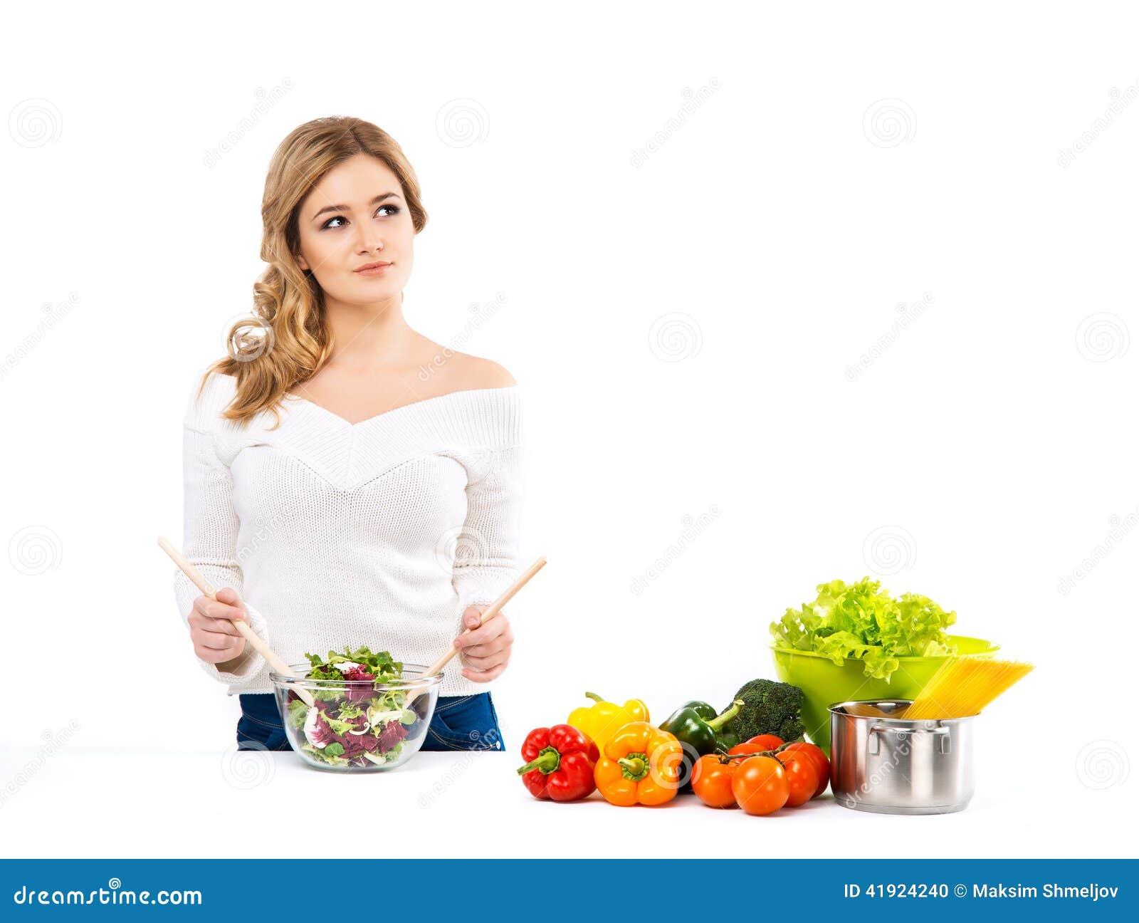 cena mujer hermoso