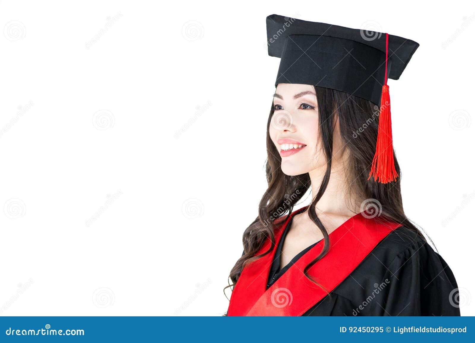 Joven se gradua vestido de mujer