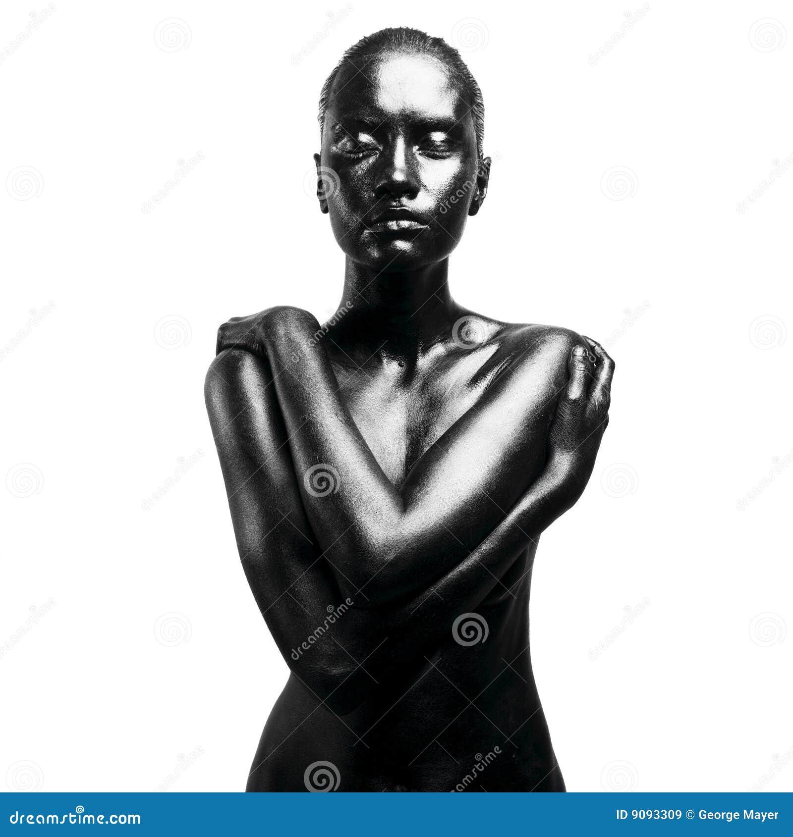 Mujer negra compuesta