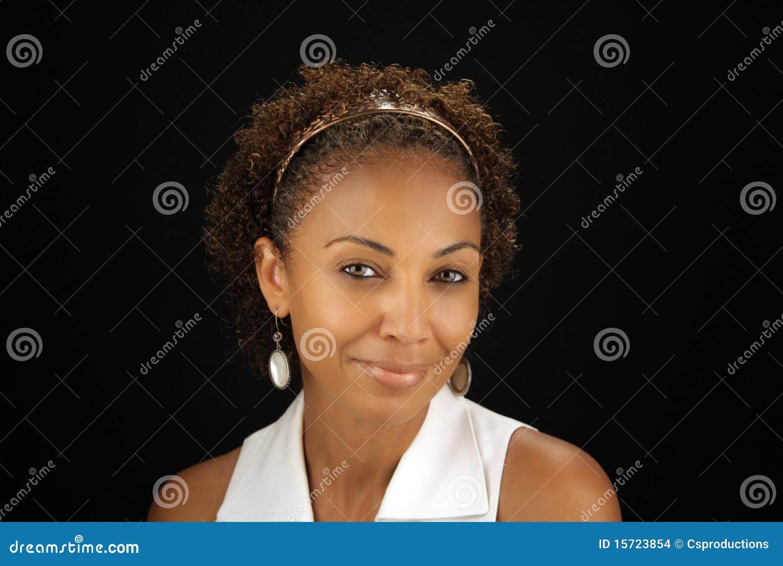 Mujer madura negra