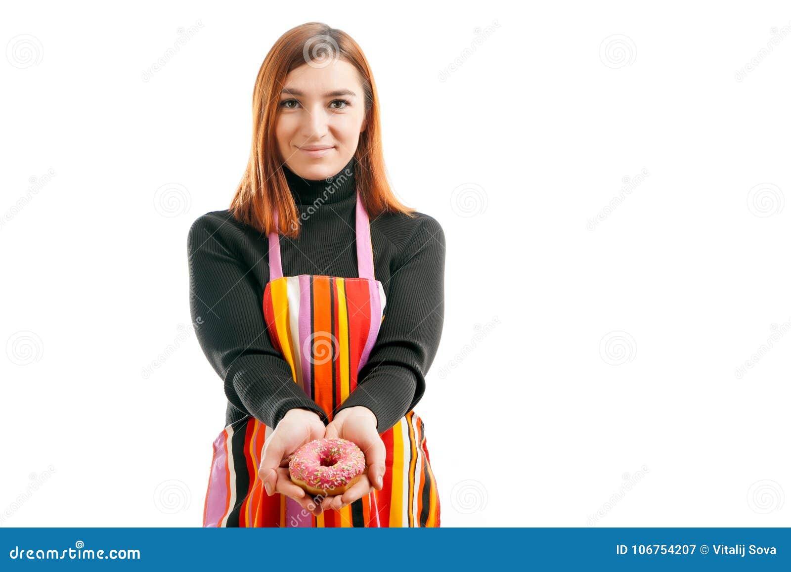 Mujer pelirroja joven