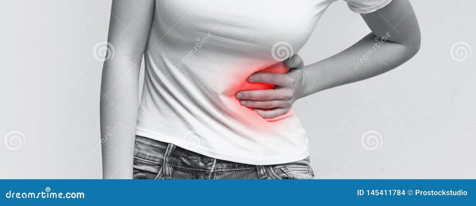 dolor fuerte abdomen izquierdo
