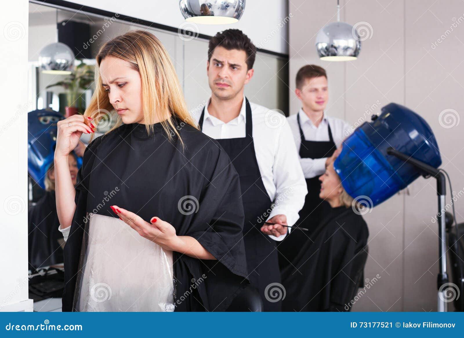 Mal corte de pelo mujeres
